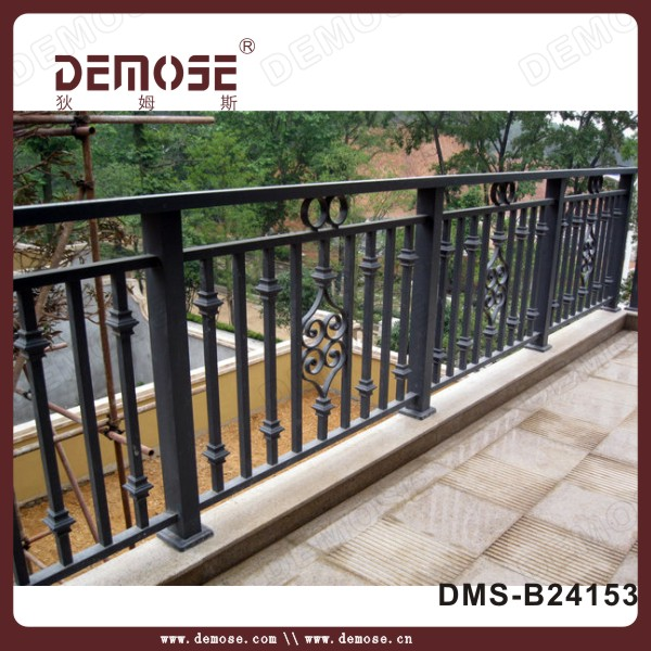 Wall Mounted Bracket Iron Handrails Antique Iron Balcony
