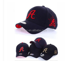 custom 6 panel flexfit baseball cap 3D embroidery wholesale