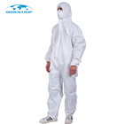 Cheap Price Type 5/6 Asbestos Removing Disposable Coverall