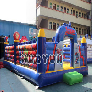 Inflatable bouncer kids air blower games castle jumping cartoon toy