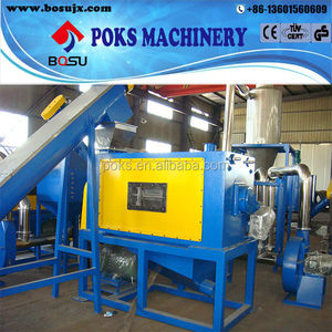 centrifugal dewatering machine for recycling line