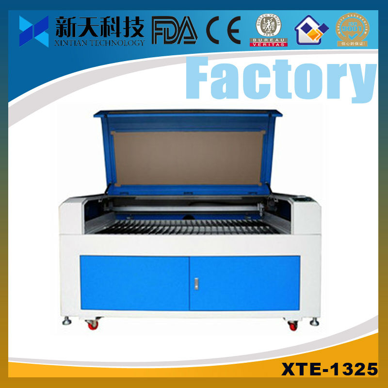 rotary device added high-efficency laser engraving and cutting machine