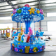 Modern newest 3m height mini fairground carousel kids rides for sale