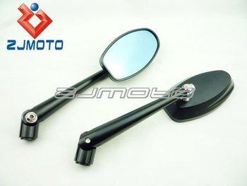 Universele Motor Spiegels : Motorfiets cnc buitenspiegels universele motor streetfighter