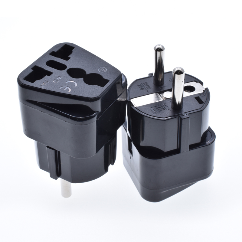 USA, UK, Swiss,AU to Germany, France, European schuko type C to Universal multifunction conversion plug travel <strong>adapter</strong> WD-9