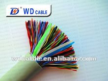 Factory :100 Pairs ftp outdoor cat5e Waterproof color code cable waterproof electrical cable telephone cable