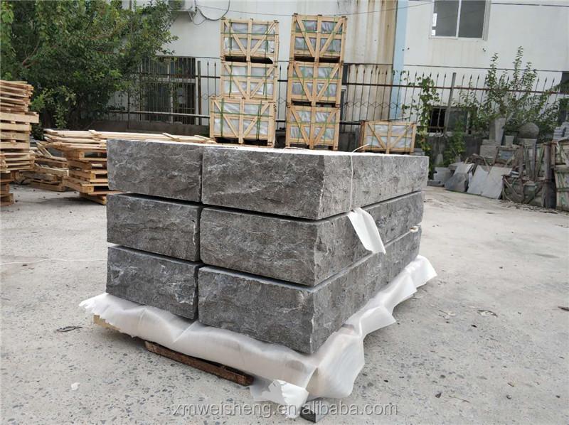 2020 המחירים הטובים ביותר של כחול שחור אבן גיר נפל עובדי ריצוף אבן 5x5x20cm