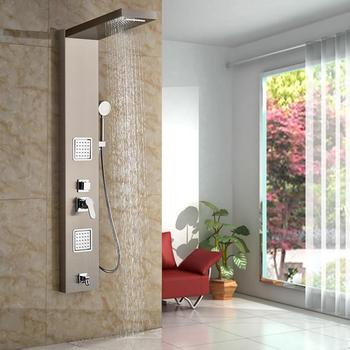 Luxury Saving Water Massage Jet Electric Steam Shower Control Panel