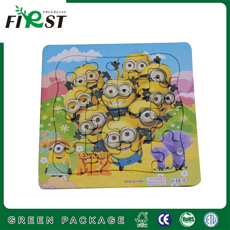 Manufacturers supply blank puzzle jigsaw game custom Eco-friendly kids paper puzzle jigsaw/super 3d puzzle