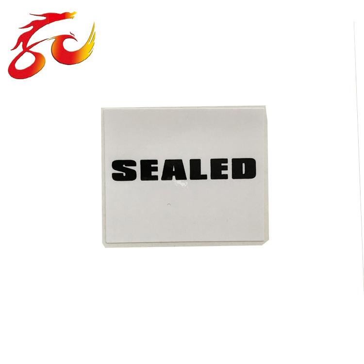 באיכות גבוהה מותאם אישית מוצר אטום מדבקת תווית מודפסת