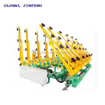 JFWSP-6133 glass cutting machine loading and distribute table CNC processing machinery