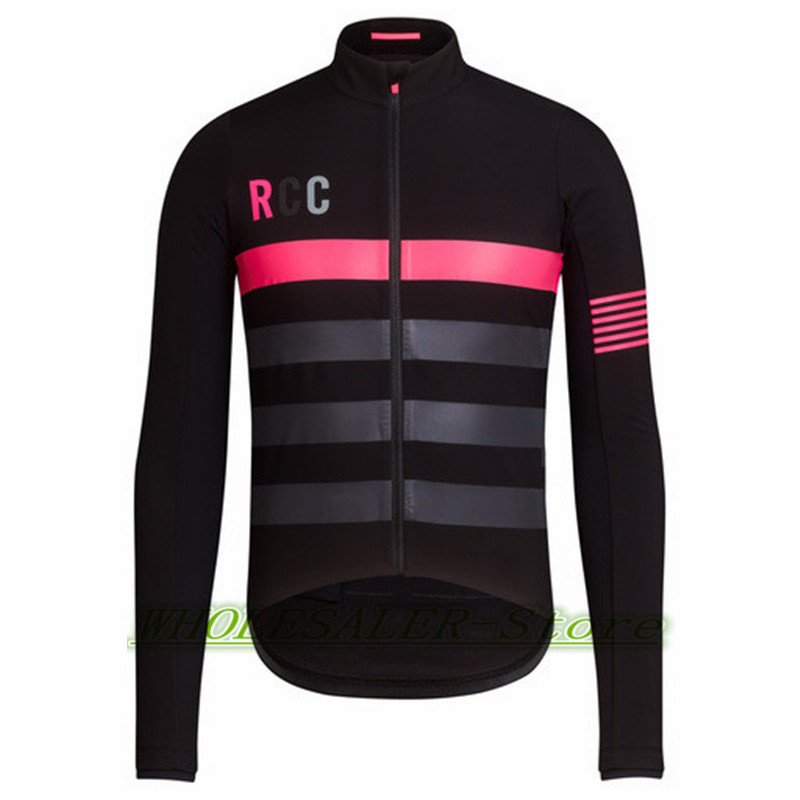 2018 Rcc Team Cycling Jersey Aero Winter Hot Wool Fabric SUISSE ... dd42052be