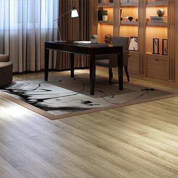 Malaysia Por Fire Proof White Color Low Price Wood Vinyl Plank Floor
