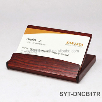 Classical design wood business card holder buy wood business card classical design wood business card holder colourmoves