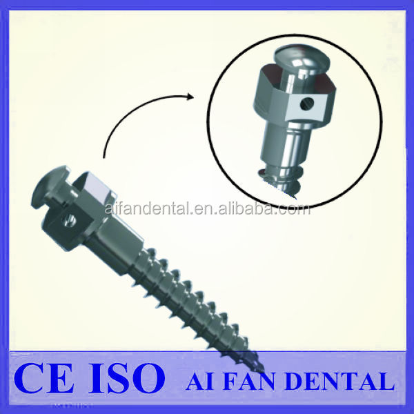 [ AiFan Dental ] 2017 Hot Sales Dental Materials GR5 Titanium Mini Dental Implant/Dental Korea Implants