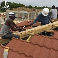 Building Material Polished Bent Stone Metal Roof Tiles Ludowici Roof Tile Prices