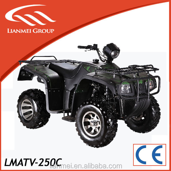 direct factory supply 250cc water cooled atv with stong horsepowerd and high performance