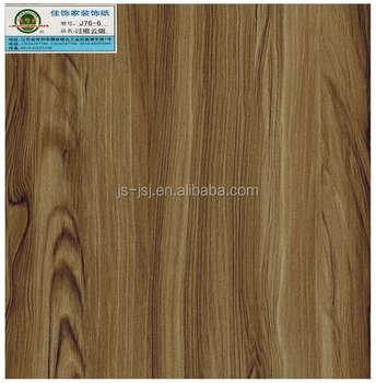 Charmant Wood Grain MDF HPL Furniture Laminate Hot Press Melamine Paper