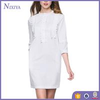 New Fashion OL Women Ladies Office Dress Clothes Knee-length Bodycon Slim Pencil Party Dress