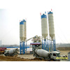 HZS50 mini precast concrete mixing plant with long working service time