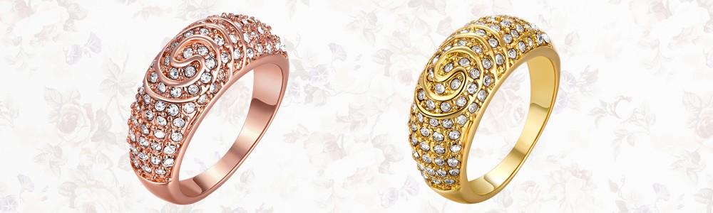 3959cc040662 Conjunto de anillos de pareja de oro de la marca de la boda de moda para  Mujeres Hombres forma de corazón emamal negro 2 piezas en un paquete  hombres tamaño ...