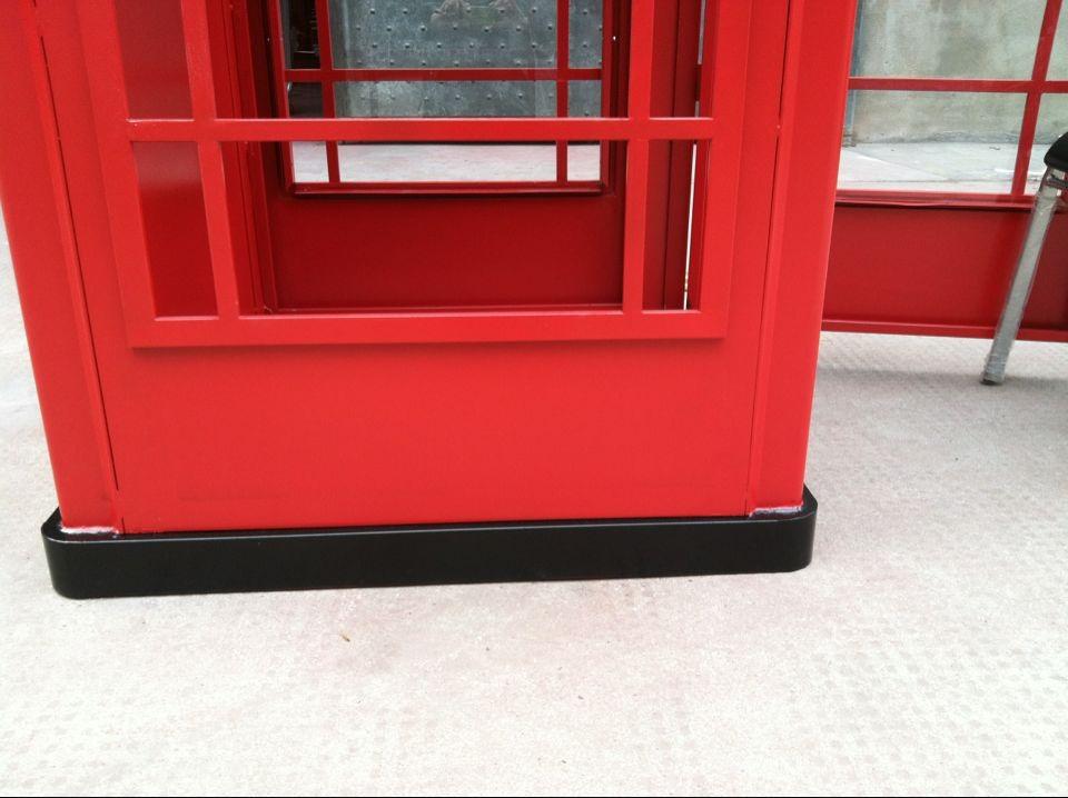 Quiosco de cabina de teléfono rojo caja K6 Espejo Frontal De Puerta