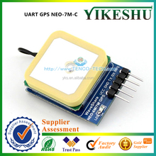 Original New UART GPS NEO-7M-C Serial GPS Module with High Gain Active Antenna