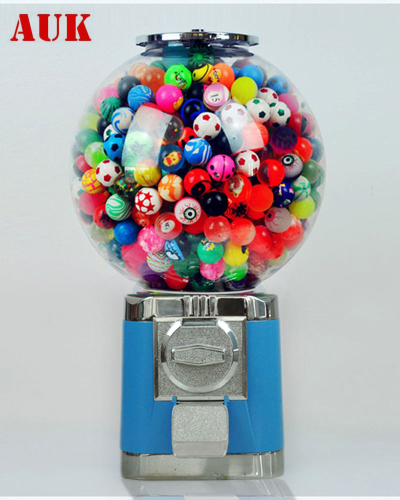 Mini kids speelgoed candy gumball automaat