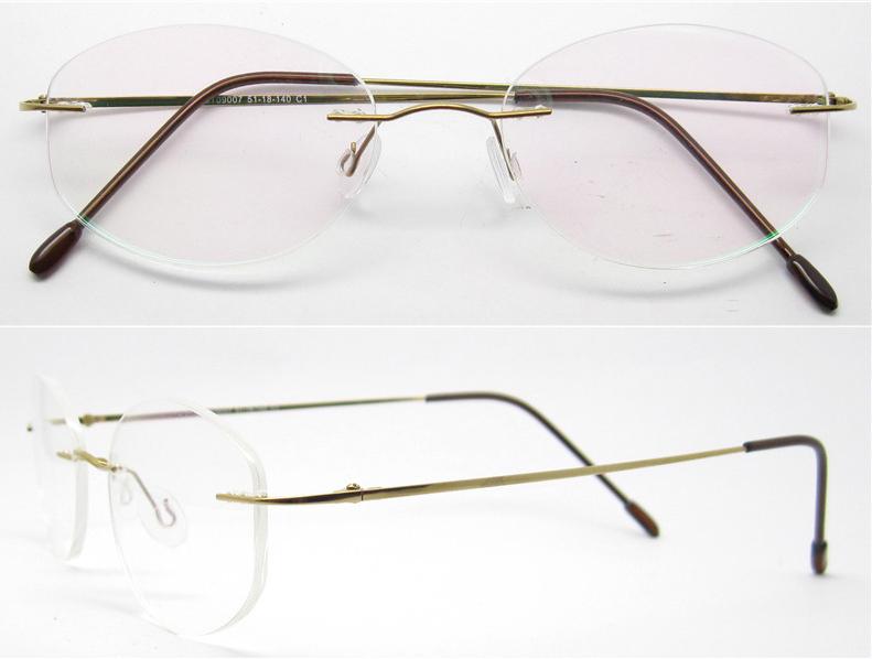 6a24211321 Titanium Silhouette Eyeglass Frames