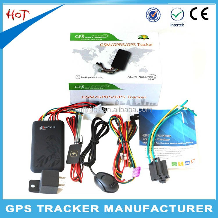 Good quality tracker vehicle gps gprs GPRS data connection gps tracker without gsm