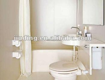 Fiberglass FRP GRP Prefabricated Bathroom/ Toilet Modules / Toliet And Floor