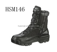 US government issued high quality waterproof military army boots with side zipper