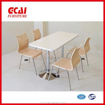 Home Furniture White Melamine Dining Table
