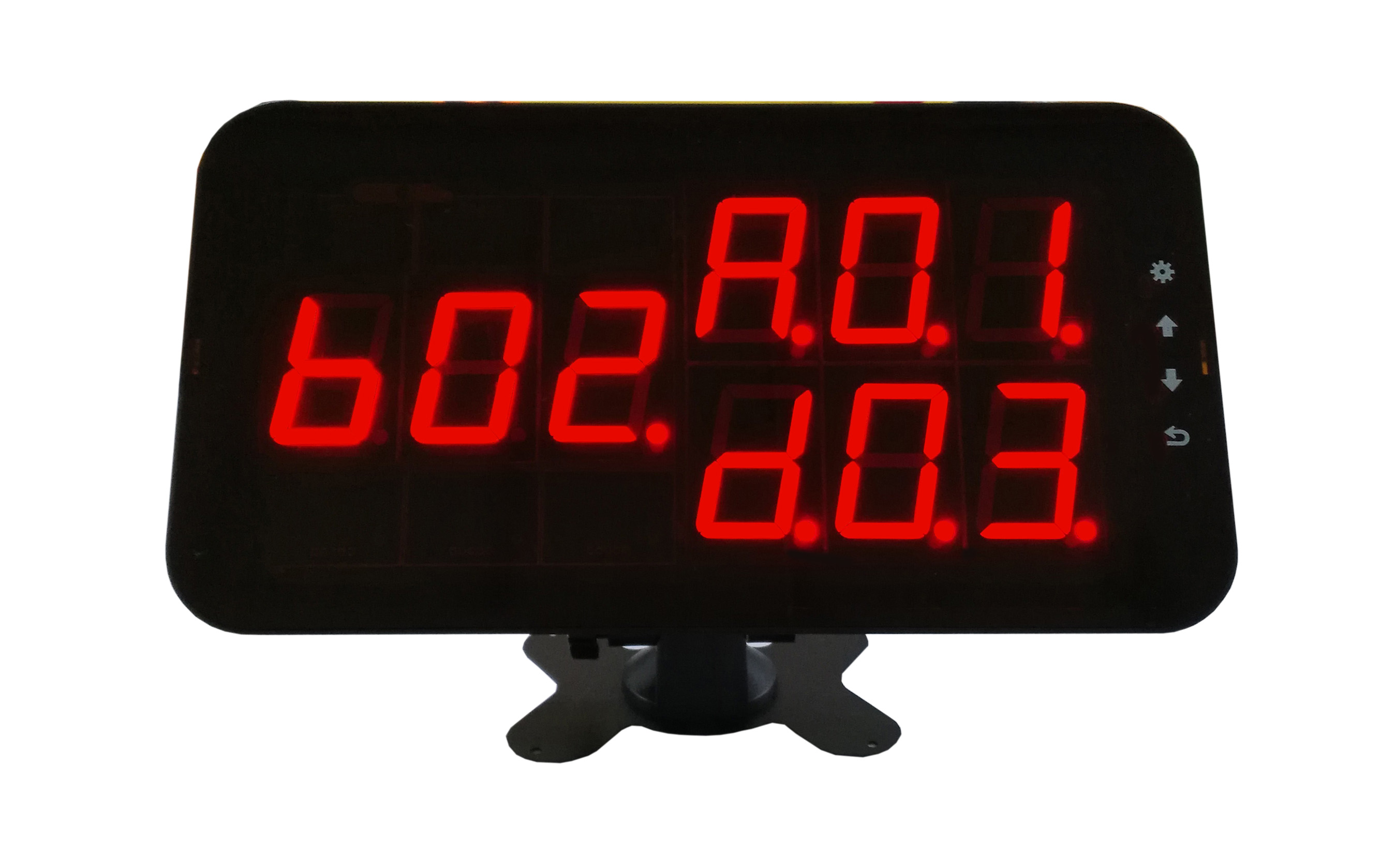 Wireless High Efficiency And On Time Service System 2 Display 20 Button With Waiter Call System Solution For Restaurant