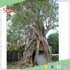 2016 popular wooden tree house/ artificial biggest banyan tree decoration
