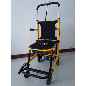 Foldable Aluminium alloy stair climbing vehicle electric wheelchair prices for emergency hospital medical