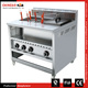 Free Standing Commercial Gas 6 Pasta Cooker and 1 Bain Marie For Sale