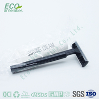 Biodegradable Professional Hotel Supplier safety razor set is disposable razor