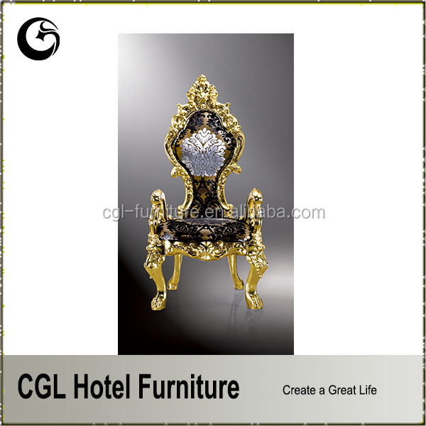 Cheap Wedding Gold Royal Hotel Chair