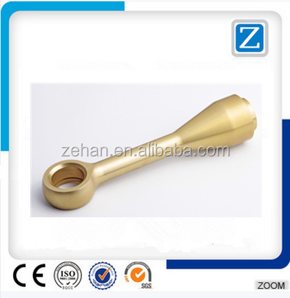 Hot forging machining brass parts