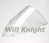 New For Yamaha YZF-R1 2009 2010 ABS Windscreen Black Clear Windshield