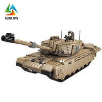 New Arrival Xingbao Assembling XB-06033 Model Tank Building Block Military For Kids