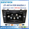 ZESTECH brand new OEM 2 din car dvd player for Mazda 3 Car audio with gps bluetooth TV tuner