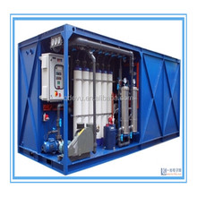 package MBR wastewater treatment plant for industrial and domestic effluent
