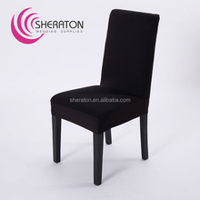 new design spandex lycra half chair cover for banquet and office in china