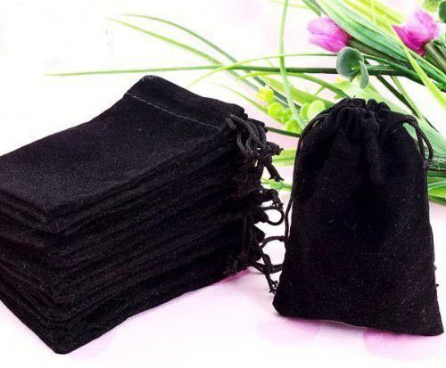 Special Design MDF Lined Base velour Jewelry Pouch