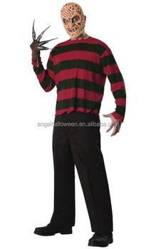 per tutta la famiglia 100% di alta qualità marchio popolare Freddy Krueger A Nightmare On Elm Street Film Horror Uomo Costume Agm3450 -  Buy Costume,Freddy Costume,Uomini Costume Product on Alibaba.com