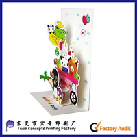 China Supplier Wholesale Custom Pop Up Wedding Invitation Card