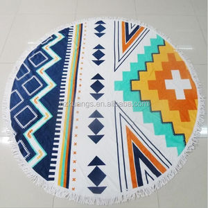 Cotton Round Beach Towel 150cmdiameter or 180cm diameter