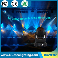 Hot 16ch sharpy 350w beam spot 17r moving head lighting